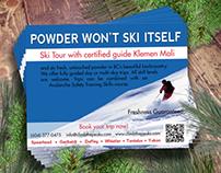 Ski With Klemen Mali promo card