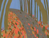 Indian Seasons Illustration