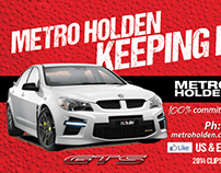 Metro Holden - V8 Supercars Clipsal 500 Promotion