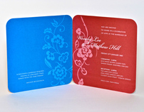 Wendy & Mat Invitations