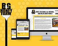 B and G Honey Farm Brand Identity