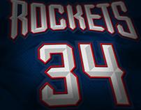 Houston Rockets '96 Uniform Debacle