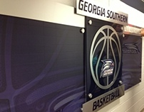 Georgia Southern University Basketball Branding