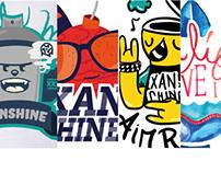 Xanshine - T-shirts