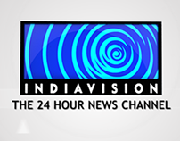 Indiavision News Channel Logo Formation
