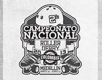 Segundo Nacional de Roller Derby Colombia