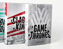 A Song of Ice and Fire - Game of Thrones // Book Covers