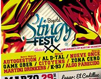 Poster Stingy Fest XX - Bogotá-Col.