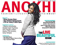Anokhi Magazine Cover- Actress Shankar