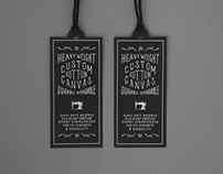 Herschel Supply Co Cotton Canvas Collection - Labels