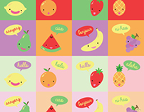 SAY HELLO TO FRUITS !