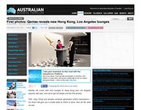 AUSTRALIAN BUSINESS TRAVELLER QANTAS HONG KONG LOUNGE
