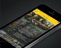 """""""Sinema"""" Theatre App Design"""
