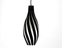 David Trubridge - Swish lamp