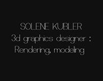 Demoreel 2013, render & modeling