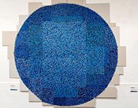 Cercle bleu - Pauline rapiau