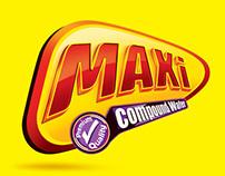 maxi logo & packaging