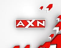 AXN Taiwan Sales Tape