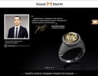 Landing Page (Посадочная страница) Royal Markt