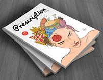 Иллюстрация для кулинарного журнала Prescription