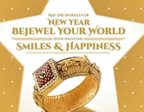 New Year Emailer for Jewellery Client