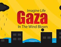 Gaza in the wind Blown