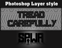 Tire Tread Photoshop Layer Style