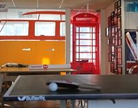 Airbnb Inc- Office Branding