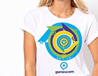 Gamescom 2014 T-Shirt Design Competition