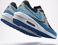 Nike Air Max Light Essentials 3D Visualization