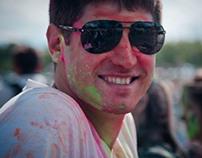 Indian festival Holi in Kiev Summer 2013