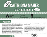 CV and Sample Portfolio