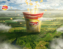 Lay's Arabia Website - Flavors' World