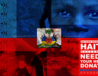 Help Haiti Promotional Poster