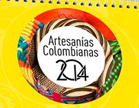 Calendario 2014 artesanias colombianas