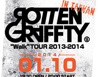 ROTTENGRAFFTY Walk Tour 2013-2014 in TAIWAN