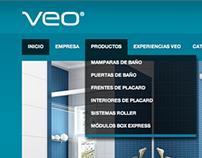 Diseño del website para e-veo