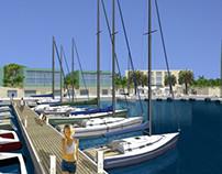 Marina & waterfront of Savona