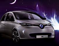 Illustration : Renault Zoé