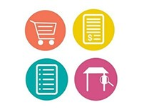 Icons: Shopping Mobile App