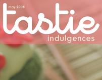 Tastie Indulgences Magazine Design