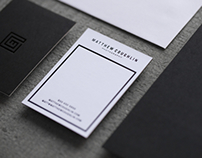 Matthew Coughlin Photography Brand Identity