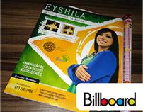 Anúncio para revista Billboard: CD Eyshila