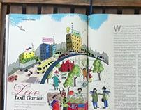 Editorial Illustrations: Nat Geo Traveller