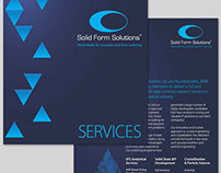 Refresh of Solid Form Solutions Ltd Materials