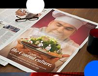 Conrad: social & print media campaigning
