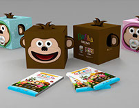 Packaging, Displays, Ilustrations and Graphic Design