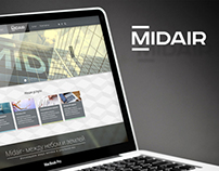 MidAir architecture web site