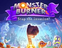 MONSTER BURNER / VIDEO GAME / ART DIRECTION