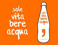Sole Vita Bere Acqua